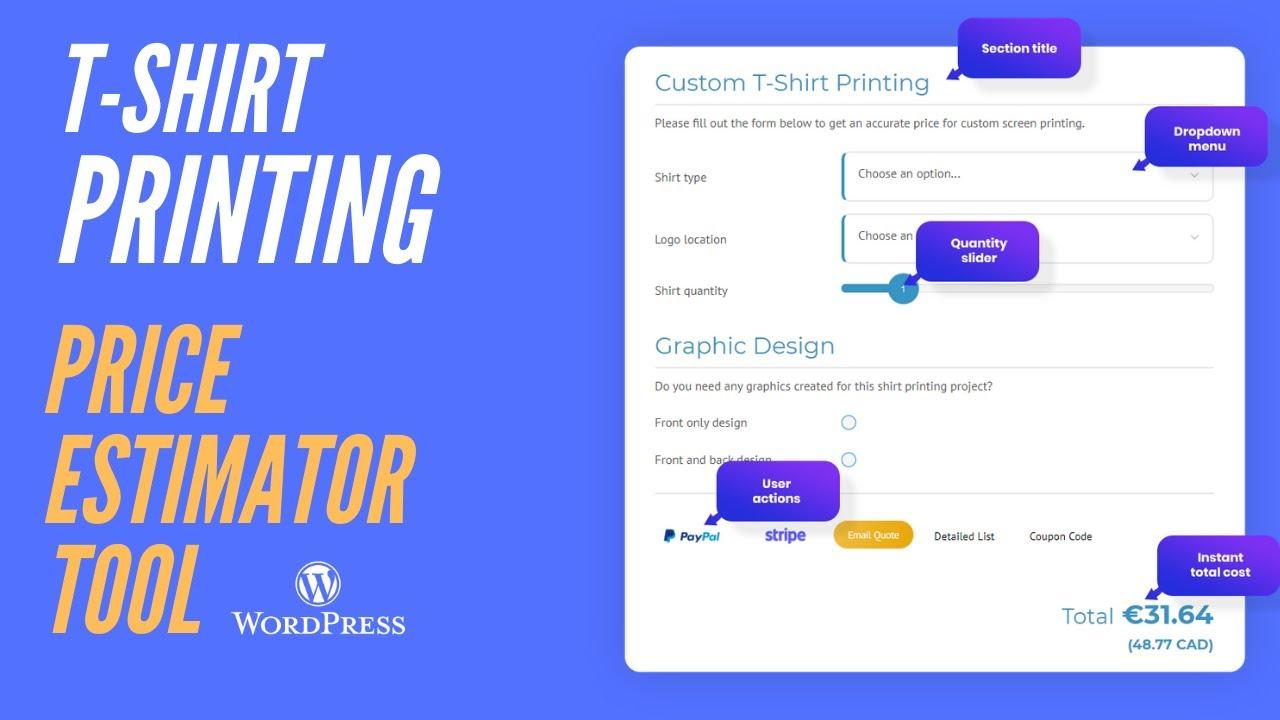 Stylish Cost Calculator – WordPress Plugin   WordPress.org Deutsch