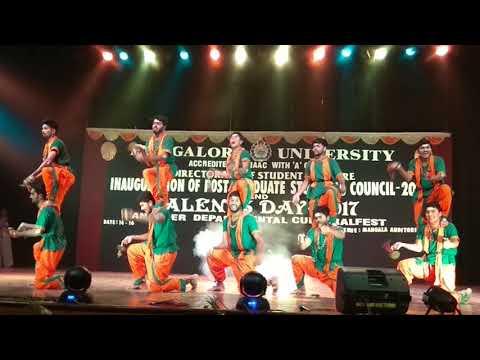 Amazing Indian Folk Dance-Kamsale by M.com Students