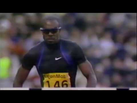Allen Johnson - Men's 110m Hurdles - 2001 Bislett Games
