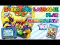 Darby and Lauralee Play - Mario Party 10 - Wii U