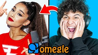 Ariana Grande & FaZe Jarvis Surprise People on Omegle