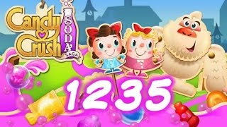 Candy Crush Soda Saga Level 1235