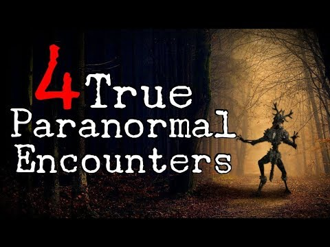 4 True Outdoor Paranormal Encounter Stories