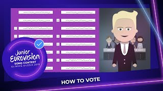 How to cast your vote at the Junior Eurovision Song Contest 2019