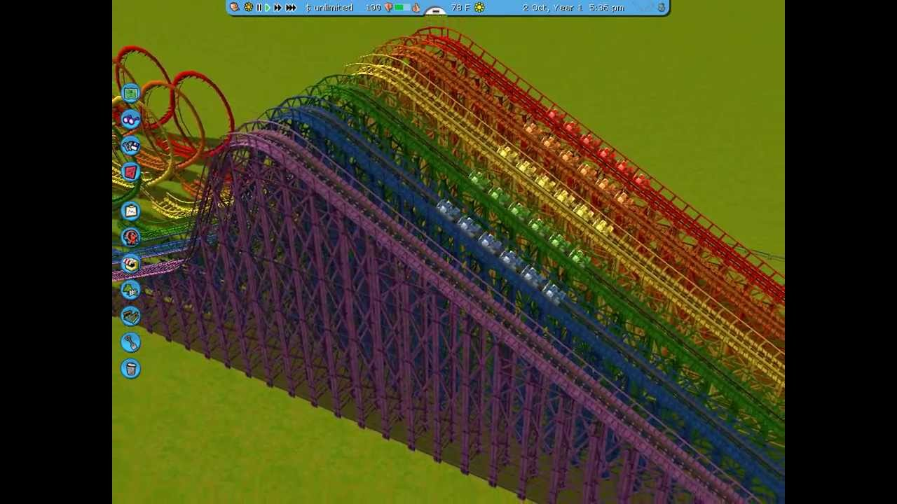 Rollercoaster Tycoon Sadist Creates 210 Day-Long Hell Coaster * – DC's