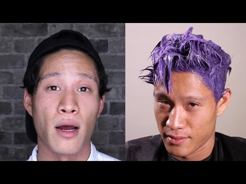 Thumbnail: Men Dye Their Hair For The First Time