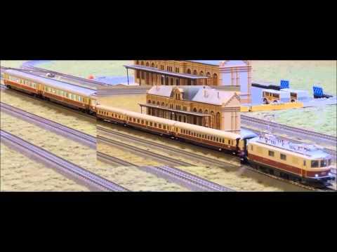 """Marklin HO Swiss """"TEE Bavaria"""" Train (26557)"""