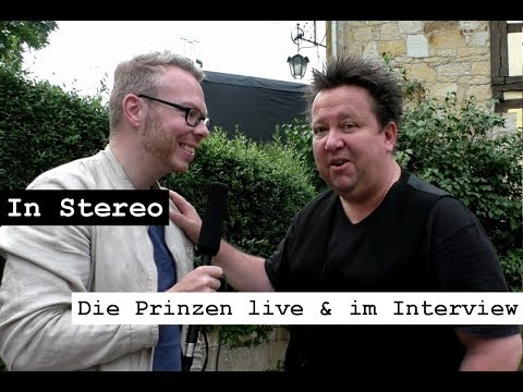In Stereo: Die Prinzen live & im Interview