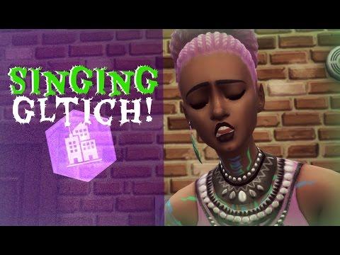 Sims 4 City Living - Singing Skill Creepy Glitch! 💀