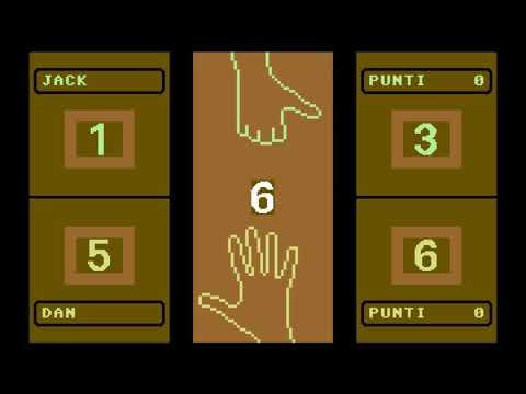 C64 Game: Morra