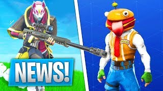 THE FORTNITE PROCHAINE UPDATE. (17 SKINS, 8 MODES, 3 ARMES..)