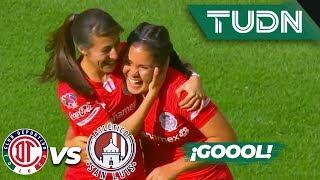 ¡Toluca sentencia! | Toluca 3 - 0 Atlético San Luis | Liga MX Femenil - J 14 - AP 2019 | TUDN