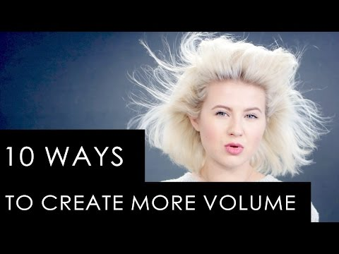 10 TIPS & TRICKS TO CREATE MORE VOLUME TO YOUR HAIR | Milabu