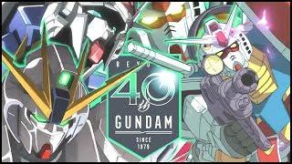 【MAD】これがガンダム40年の歴史だ!GUNDAM 40th Anniversary