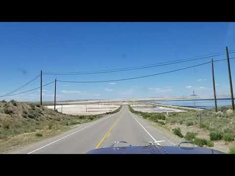 Exit 72 To Genesis Soda Ash Mine Site