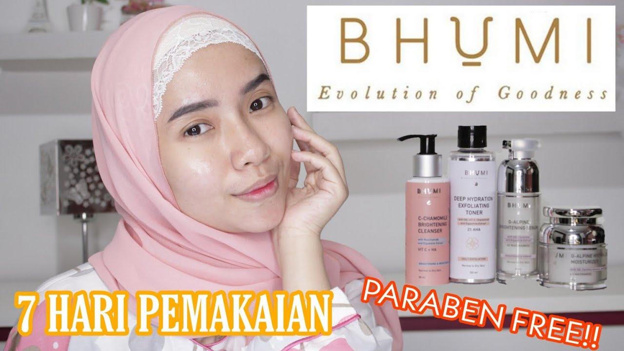 Review 7 Hari Skincare Bhumi Hero Ingredients Terbaik Pertama Satu Satunya Di Indonesia Febie Youtube