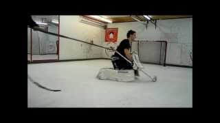 Olivier Gervais - Hands Training Intense hockey on synthetic ice