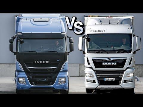 Войны грузовиков: IVECO STRALIS NP Vs MAN TGX