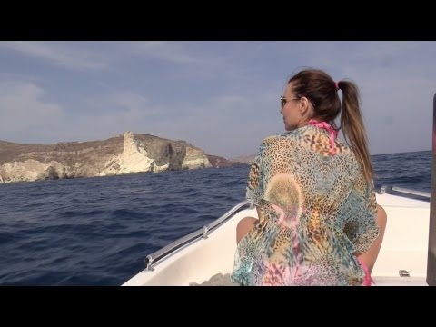 Boots-Tour mit Aische Pervers  | Santorini #4