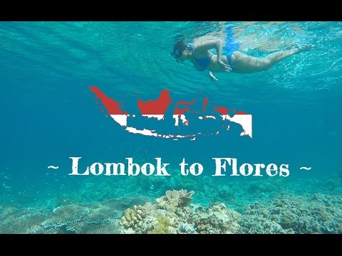 Indonesia island hopping - Lombok to Flores - YouTube