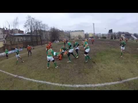 Latvian Rugby League LMT Eži Vs Valmiera Fēnikss (GoPro)
