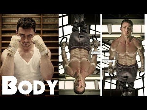 Aaron Taylor Johnson Body Workout