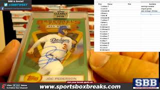 2018 Topps Clearly Authentic Baseball Hit Draft   Case Break #2