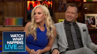 Jenny McCarthy Asks Andy If He Has Ever Slept With a Black Man | Host Talkative | WWHL