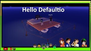[Roblox] Projoot (Test2): game working again! and Hello Defaultio :D