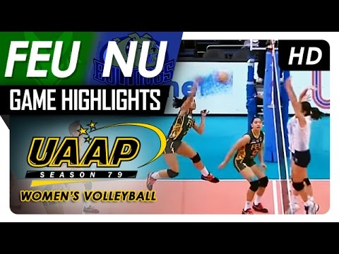 FEU vs. NU | Game Highlights | UAAP 79 WV | April 1, 2017