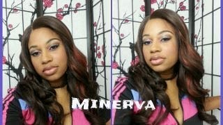 ♥ Reviewing Janet Collections MINERVA W- Part lace front wig-  ♥www.elevatestyles com