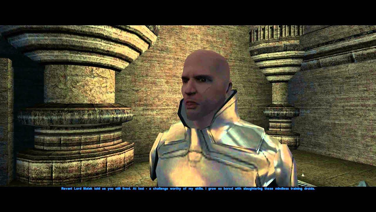 Star Wars: Knights of the Old Republic Walkthrough Part 74 ***Rakatan  Temple*** (1080p FULL HD)