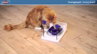 Bored Cats can be stimulated with fun feeding boards from Health Cat Smart