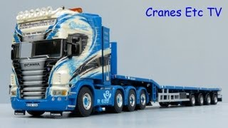 WSI Scania R Tractor and Nooteboom Telestep Trailer