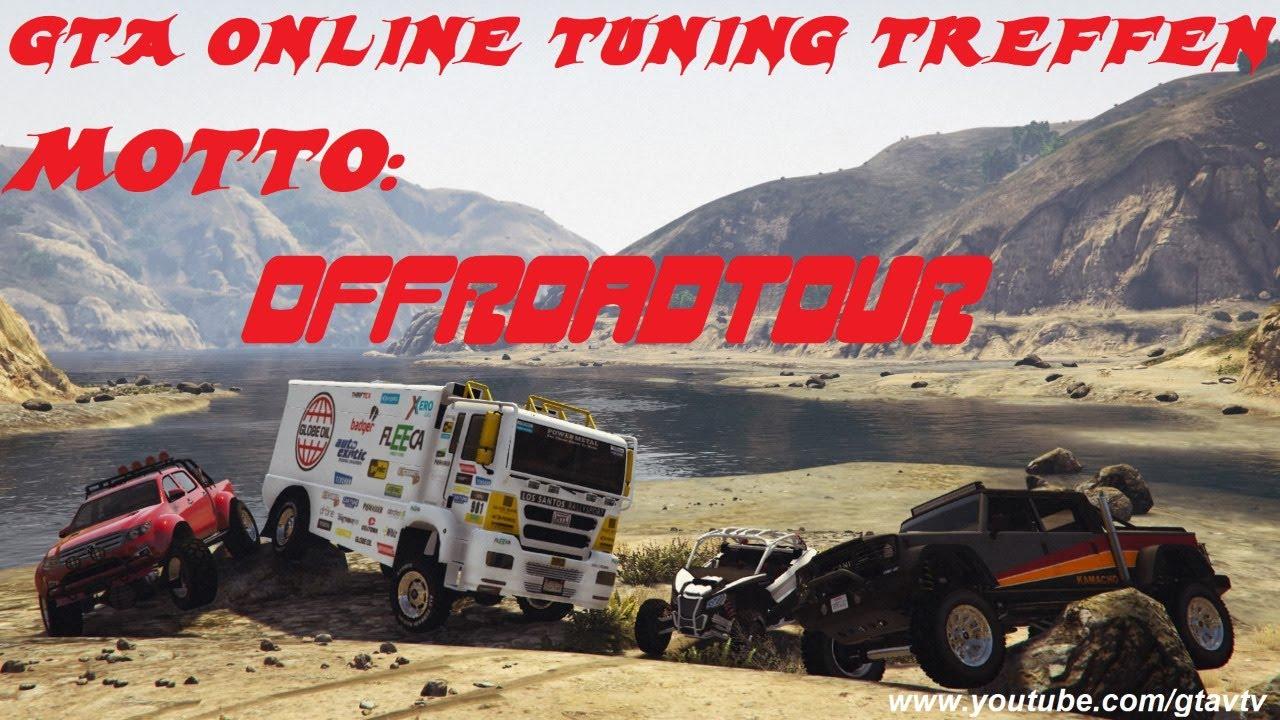 Gta online tuning treffen ps4