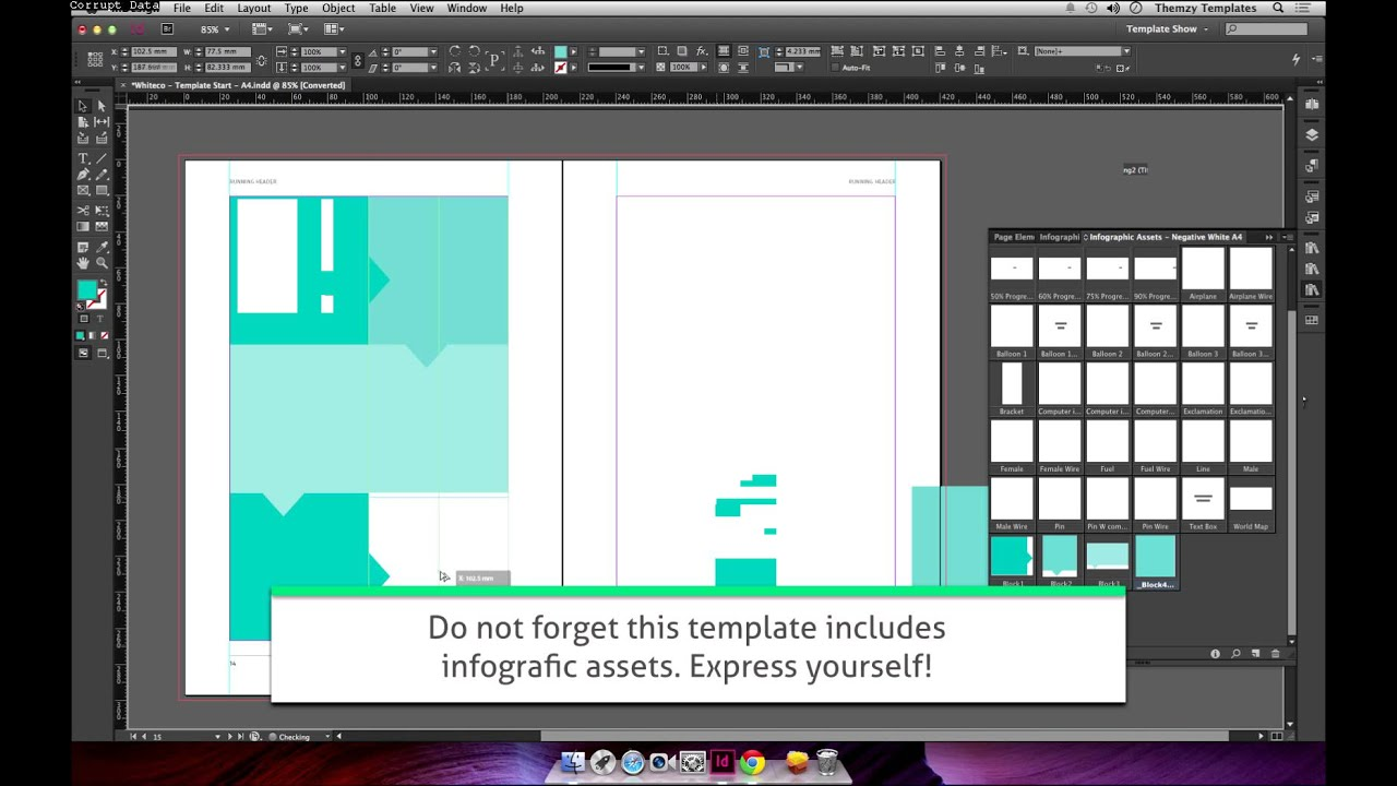 Whiteco White Paper Template For Indesign Youtube