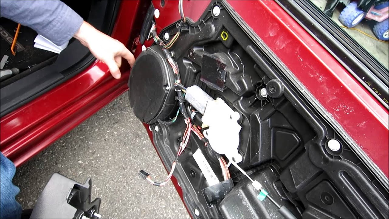 maxresdefault how to remove a door panel and speaker dodge avenger youtube  at creativeand.co