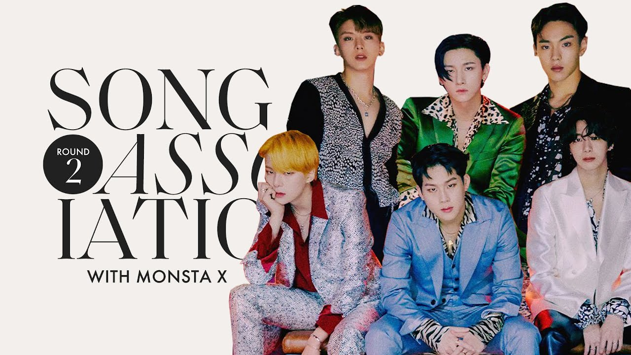 MONSTA X is Back for Round 2 of Song Association, Sings 24kGoldn, Frank Ocean &