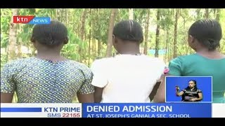 Three girls denied admission at a Busia school for refusing to shave heads; religion doesn't allow