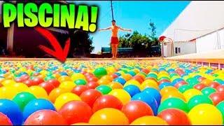 LLENAMOS UNA PISCINA CON +10.000 BOLAS Y HACEMOS PLANCHAZOS EXTREMOS !! Makiman thumbnail