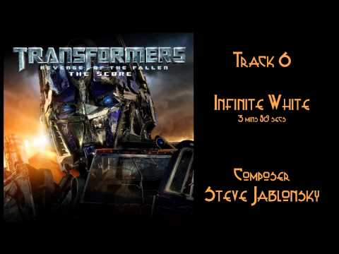 STEVE JABLONSKY - Transformers, The Revenge of the Fallen - The Score. fragman