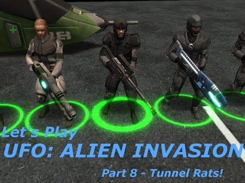 Let's Play UFO  Alien Invasion Part 8 - Tunnel Rats!