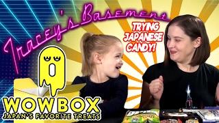 WOWBOX Dagashi Unboxing - Trying Nostalgic Japanese Candy