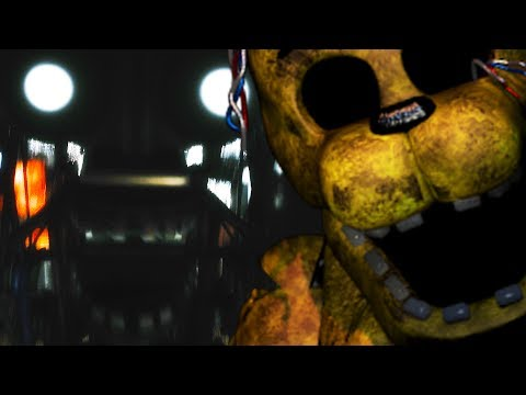 TJOC Story Mode - GOLDEN FREDDY IS TOYING WITH ME! - The Joys Of Creation Story Mode FNAF