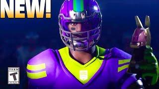 NEW! Fortnite NFL Skins! Fortnite Battle Royale Trailer.