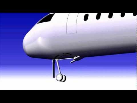 Aircraft design and animation in CATIA