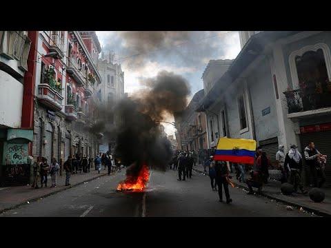 Equador a ferro e fogo com aumento do preço de combustíveis