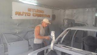 видео Подготовка к покраске авто своими руками (технология)