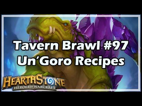 [Hearthstone] Tavern Brawl #97: Un'Goro Recipes