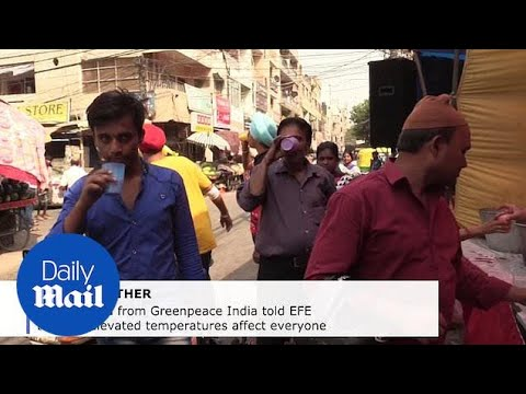 India suffers from heat wave with temperatures over 120 degrees